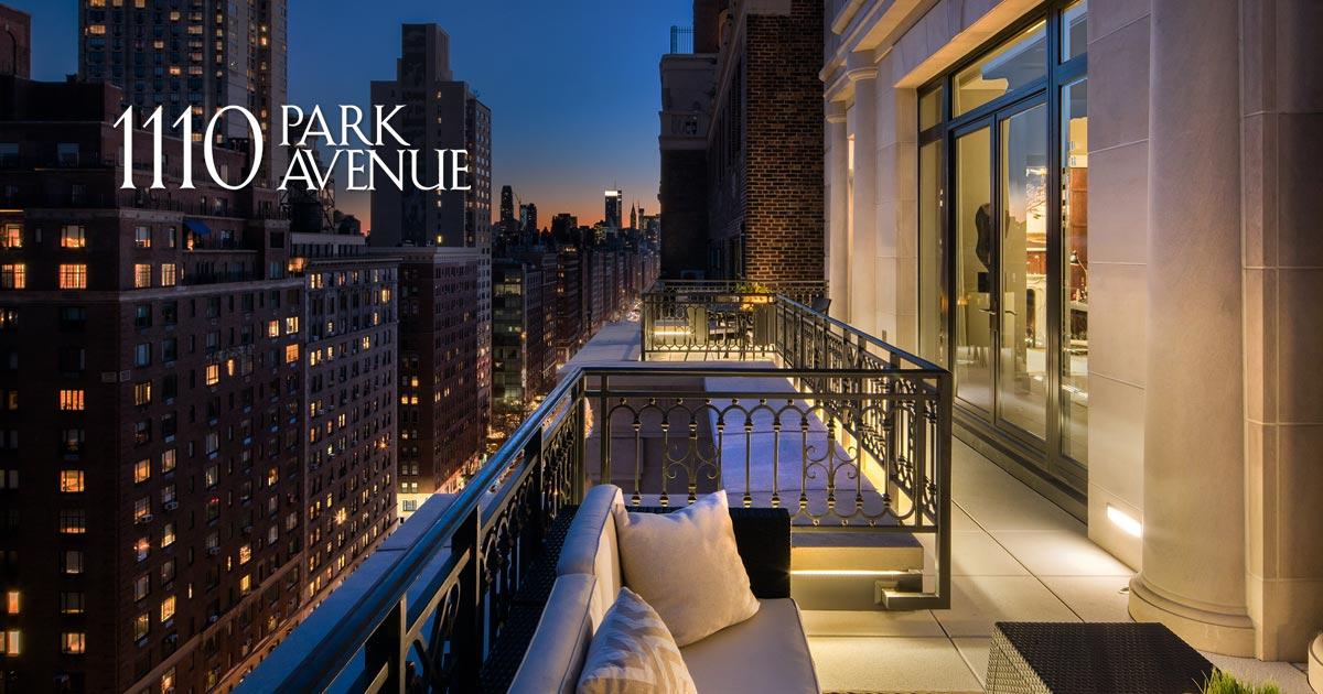 the penthouse at 1110 park avenue condominium for sale. Black Bedroom Furniture Sets. Home Design Ideas